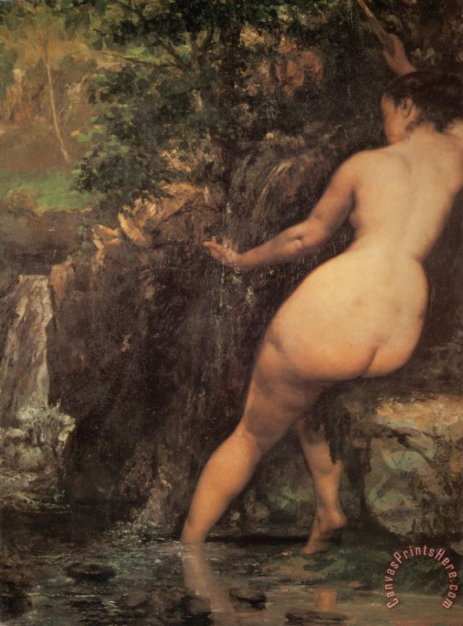 Gustave Courbet The Source Art Print