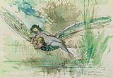 Gustave Moreau Dragonfly Print