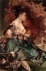 Japanese girl by Hans Makart