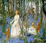 Henry Meynell Rheam The Fairy Wood Print