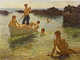 Henry Scott Tuke Morning Splendour Print
