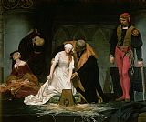 Hippolyte Delaroche The Execution of Lady Jane Grey Print