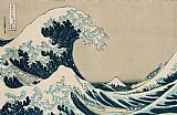 Hokusai The Great Wave of Kanagawa Print