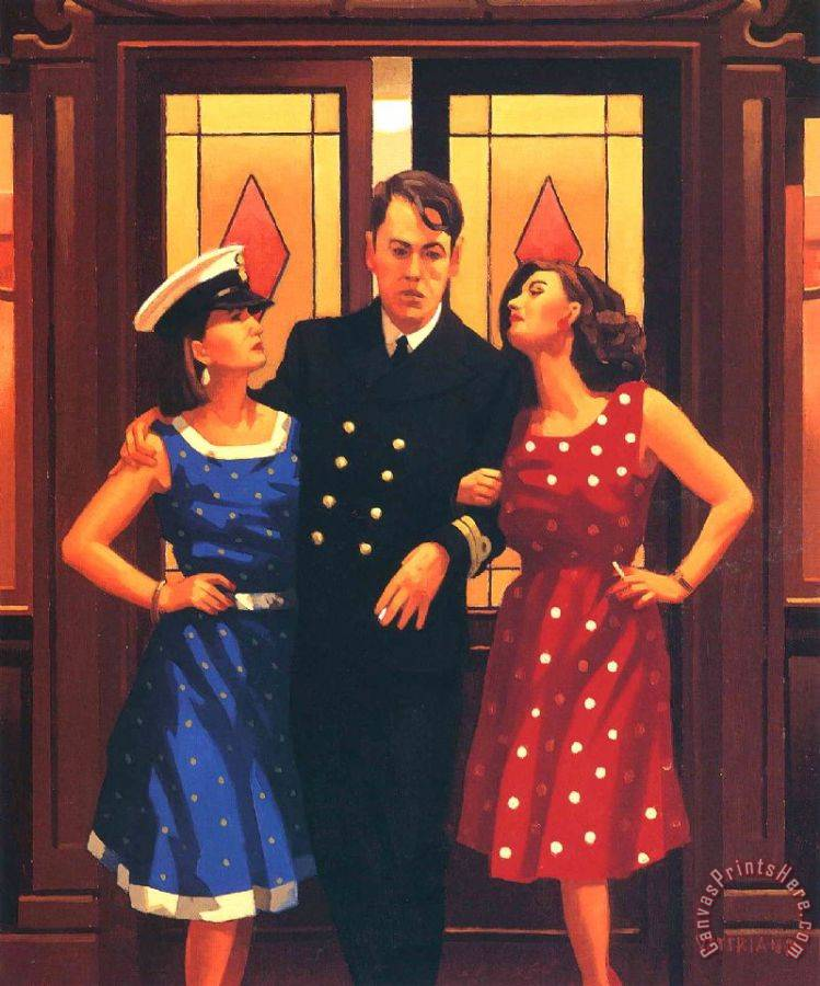 Jack vettriano and so to bed art print for sale for And so to bed