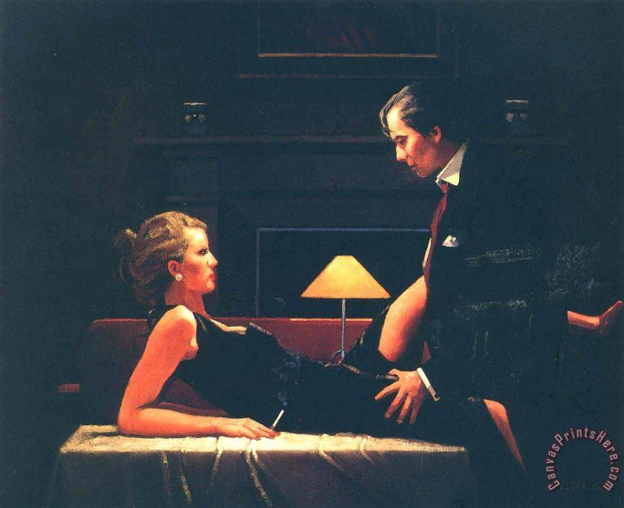 Jack Vettriano Passion Overflow Art Print for sale ...