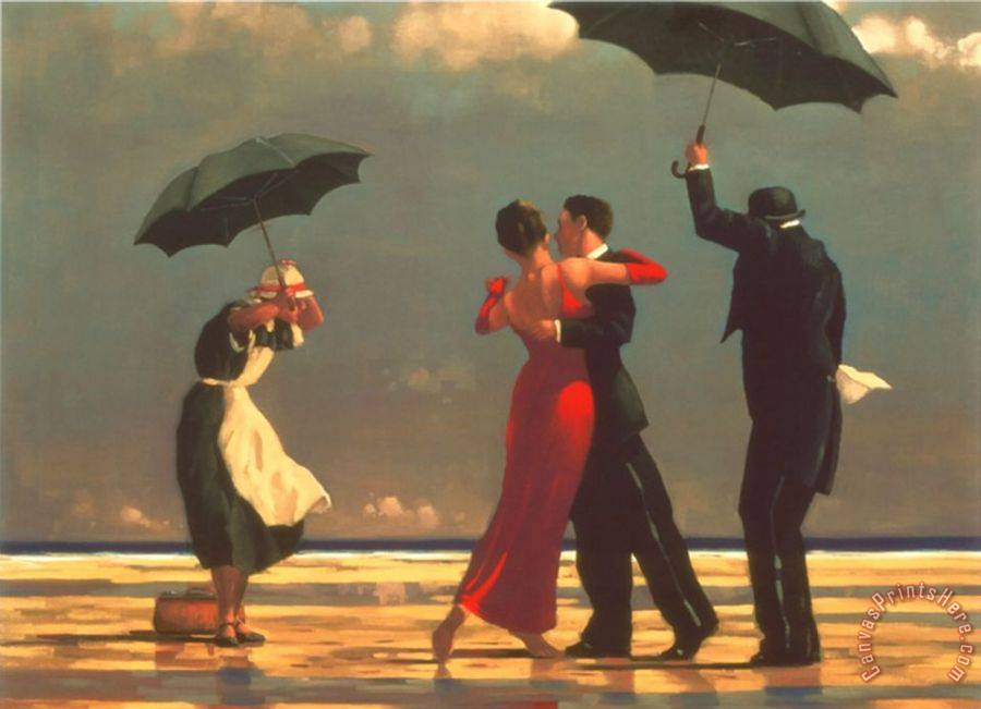 Jack Vettriano The Singing Butler Art Print