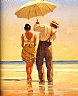 Jack Vettriano Mad Dogs Detail Print