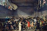 Jacques Louis David The Tennis Court Oath Print