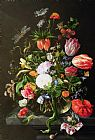 Jan Davidsz de Heem Still Life of Flowers Print