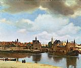 Jan Vermeer View of Delft Print