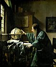 Jan Vermeer The Astronomer Print