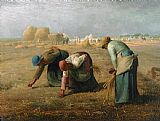 Jean-Francois Millet The Gleaners Print