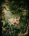 Jean Honore Fragonard The Swing Print