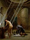 Jean Leon Gerome The Moorish Bath Print