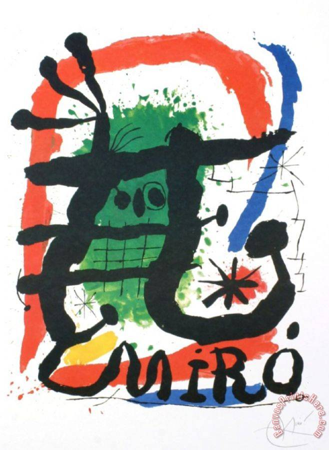 Joan Miro Xxieme Siecle 20th Century Art Print