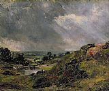 John Constable Hampstead Heath Print