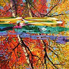 John Lautermilch Fall Reflections Print