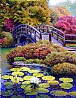 Japanese Bridge by John Lautermilch