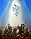 John Lautermilch Jesus Taken up into Heaven Print