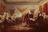 John Trumbull Signing the Declaration of Independence Print