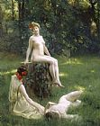Julius Leblanc Stewart The Glade Print