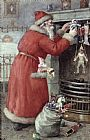 Karl Roger Father Christmas Print
