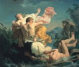 Louis Jean Francois Lagrenee The Abduction of Deianeira by the Centaur Nessus Print