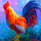 Marion Rose Rooster Bob Print