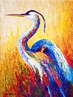 Marion Rose Steady Gaze - Great Blue Heron Print