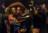 Michelangelo Caravaggio The Taking of Christ Print