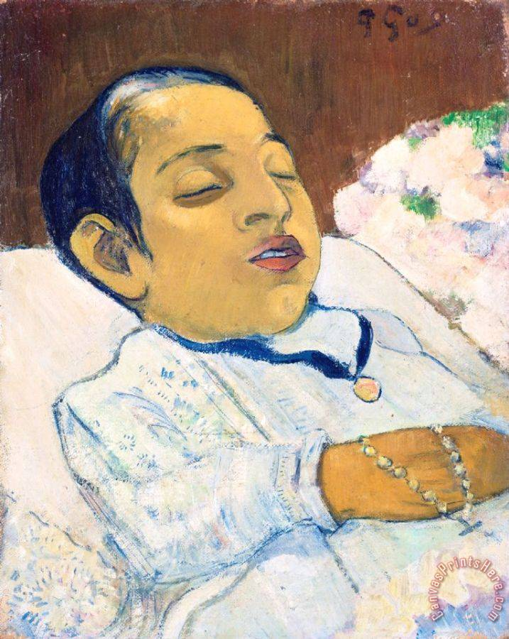 Paul Gauguin Atiti Art Print