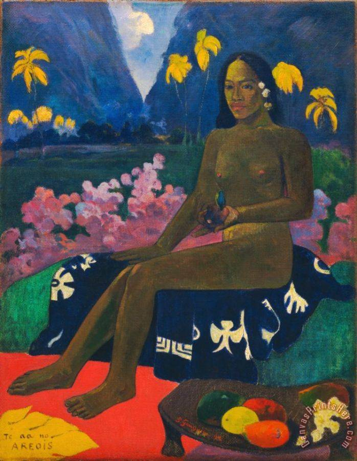 Paul Gauguin The Seed of The Areoi Art Print