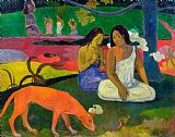 Paul Gauguin The Red Dog Print