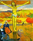 Paul Gauguin The Yellow Christ Print