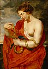 Peter Paul Rubens Hygeia - Goddess of Health Print
