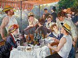 Pierre Auguste Renoir The Luncheon of the Boating Party Print
