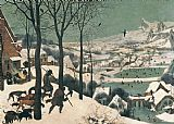 Pieter the Elder Bruegel - Hunters in the Snow