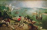 Pieter the Elder Bruegel Landscape with the Fall of Icarus Print