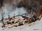 Pol Ledent Watercolor Jjook Print