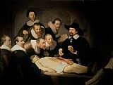 Rembrandt Harmenszoon van Rijn The Anatomy Lesson of Doctor Nicolaes Tulp Print
