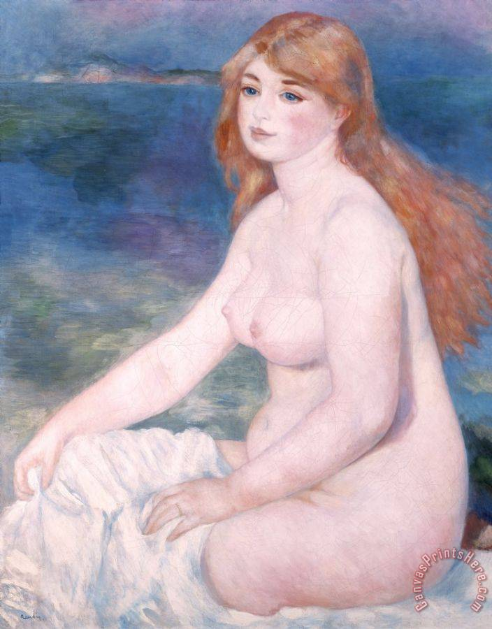 Renoir Blonde Bather II Art Print