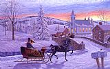 Richard De Wolfe An Old Fashioned Christmas Print
