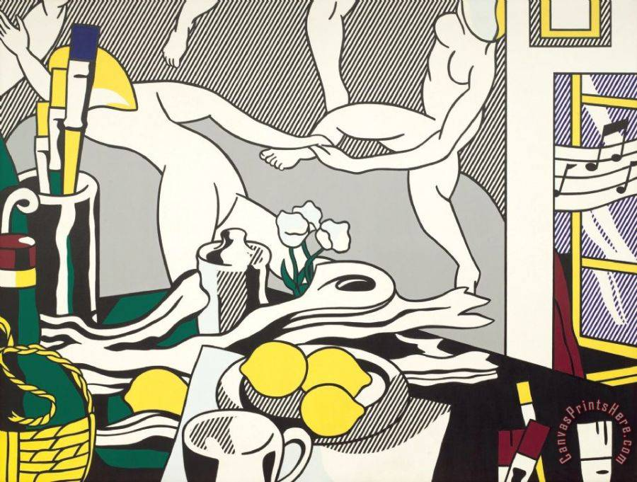Roy Lichtenstein The Dance Art Print