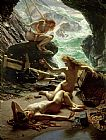Sir Edward John Poynter The Cave of the Storm Nymphs Print