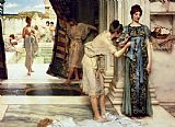 Sir Lawrence Alma-Tadema The Frigidarium Print