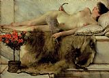 Sir Lawrence Alma-Tadema The Tepidarium Print