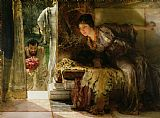 Sir Lawrence Alma-Tadema - Welcome Footsteps