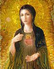 Smith Catholic Art Immaculate Heart of Mary Print