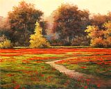 T. C. Chiu Poppy Meadows I Print