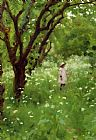 Thomas Cooper Gotch The Orchard Print